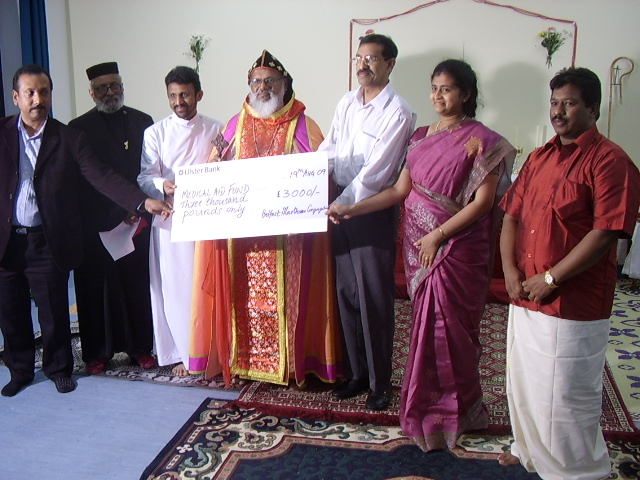 Charity work in India